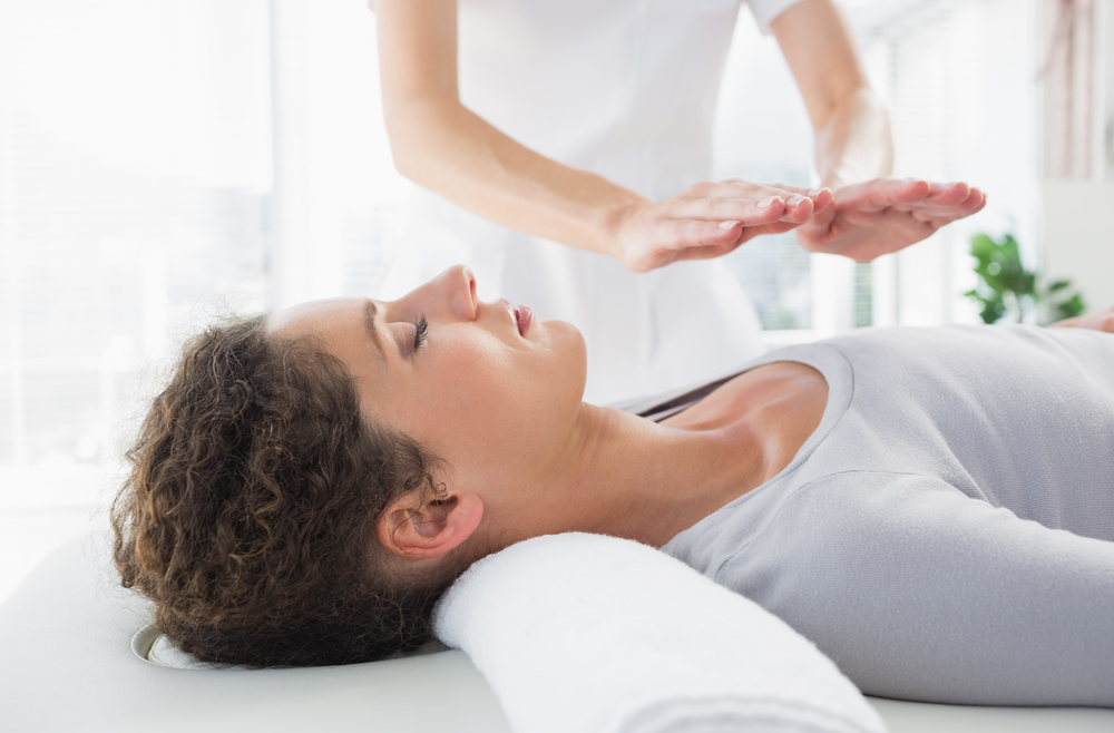 Receiving Reiki